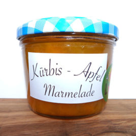 Kürbis-Apfel Marmelade 220g