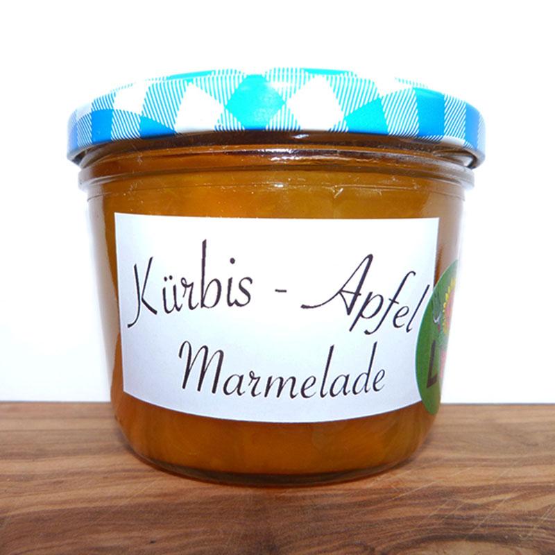 Kürbis-Apfel Marmelade Image