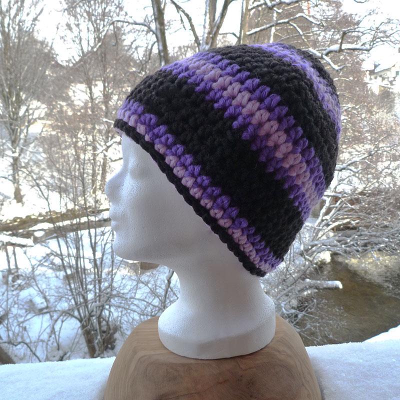 Mütze lila Image
