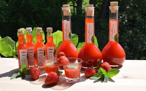 Erdbeer-Limes