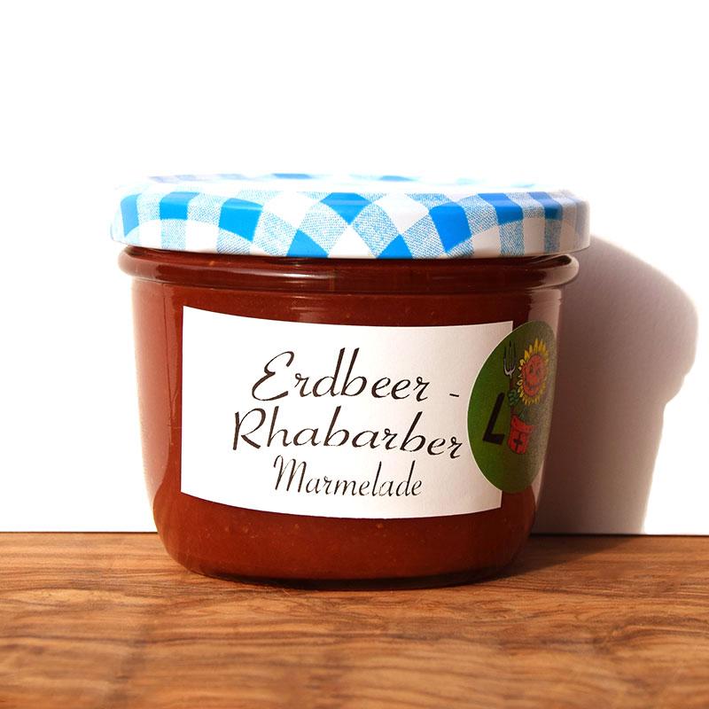 Erdbeer Rhabarber Marmelade Image
