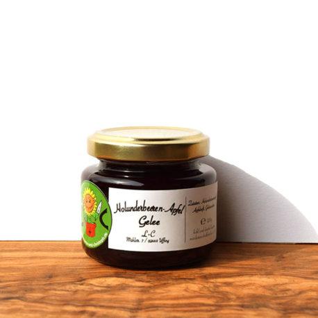 Holunderbeeren-Apfel-Gelee-120g