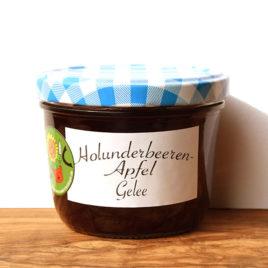 Holunderbeeren-Apfel Gelee 210g