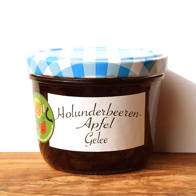 Holunderbeeren-Apfel Gelee Image