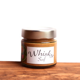 Whiskey Senf 120g