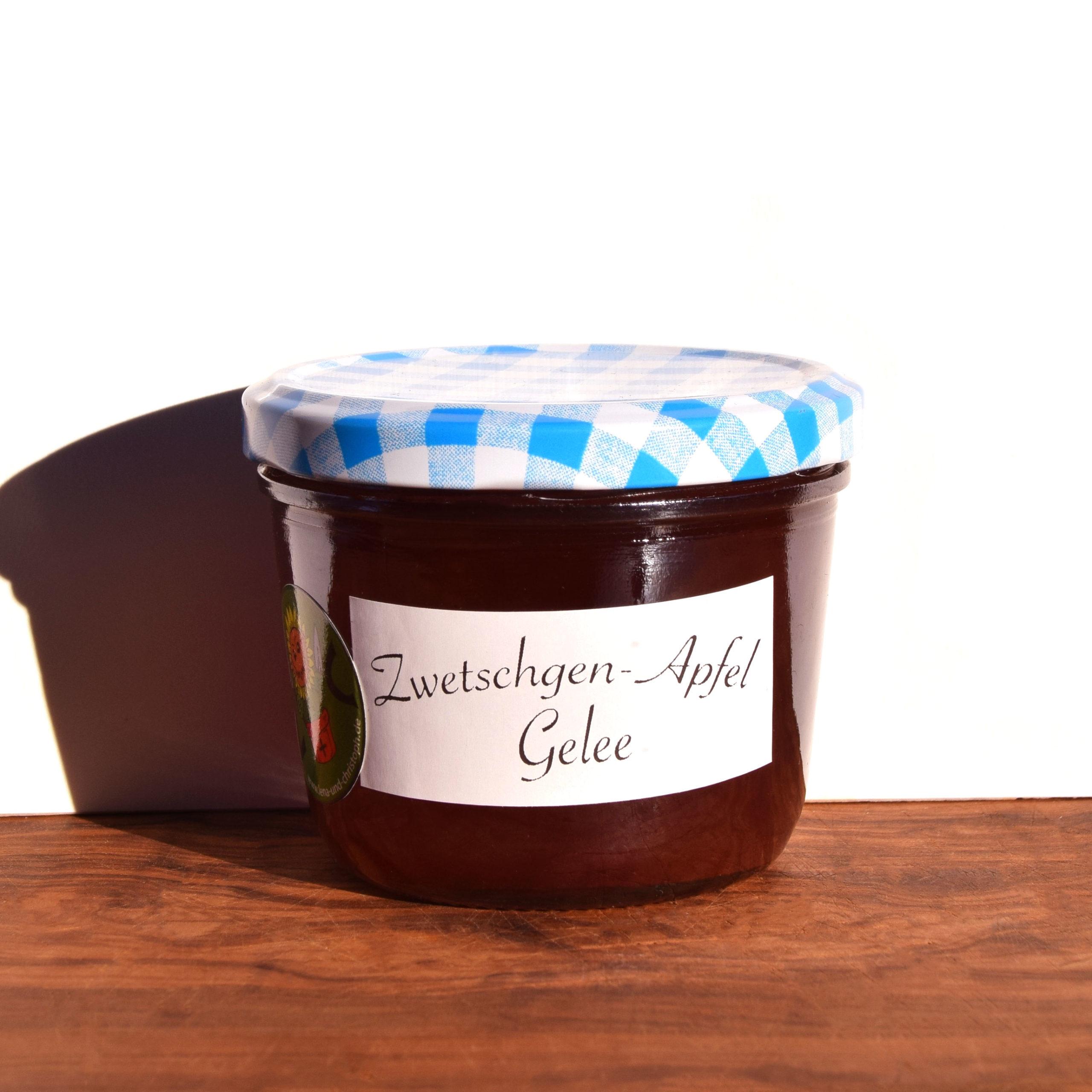 Zwetschgen-Apfel Gelee Image